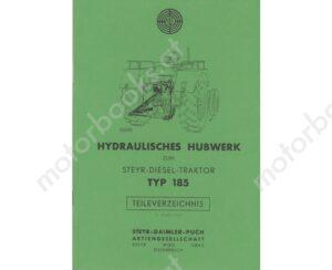 Hydraulisches-Hubwerk-fuer-Typ-185-Ersatzteilkatalog