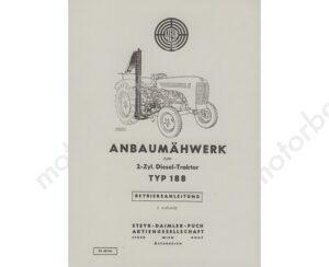 Steyr-Anbaumaehwerk-fuer-Typ-188-Betriebsanleitung