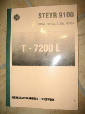 Werkstattahndbuch triebwek 9100