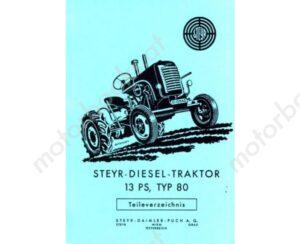 steyr_typ_80_erstes_modell_mit_13_ps_1_zylinder_ersatzteilkatalog