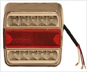 Schluss-, Brems-, Blinkleuchte LED