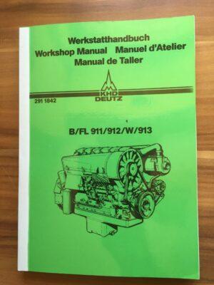 Deutz Werkstatthandbuch