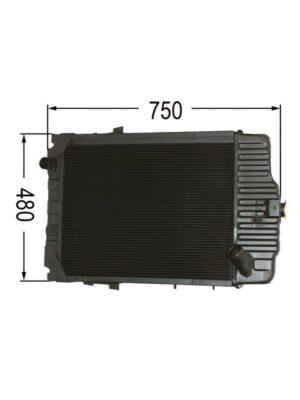 Kühler Steyr Case 9086 - 9094 CS48 - CS94 Ö78238