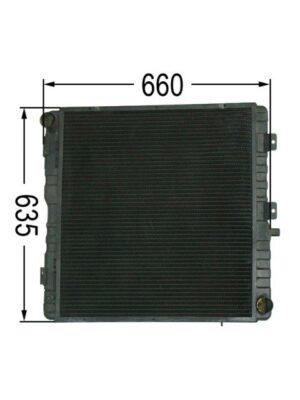 Kühler Steyr Case New Holland 9115 - 9145 CS 120 - 150 NH: T6020 - T6070 Ö78240